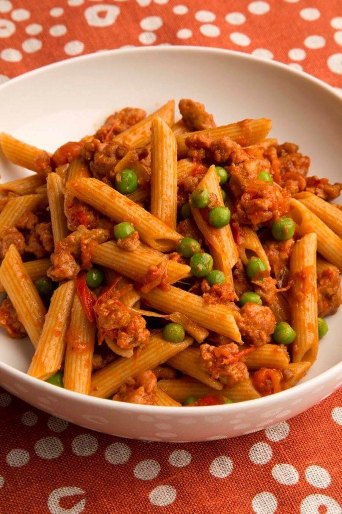 pasta with chicken