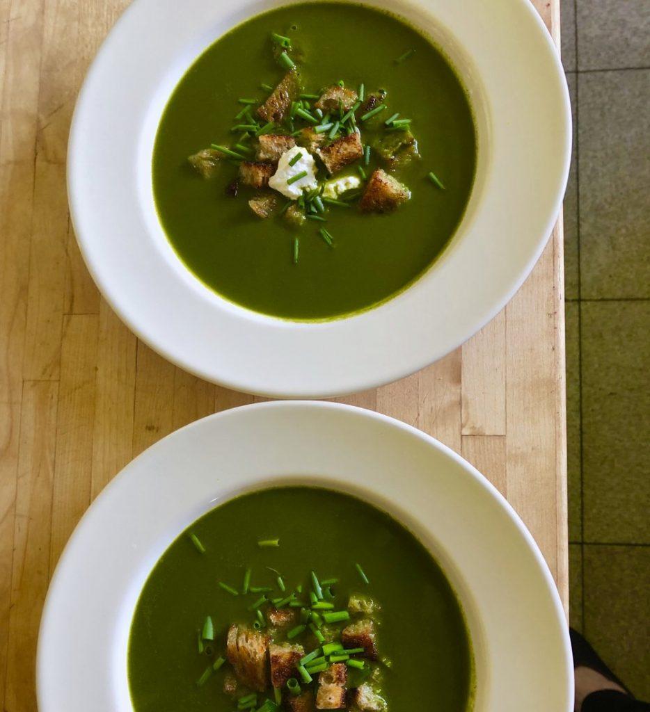 Watercress &Arugula Soup