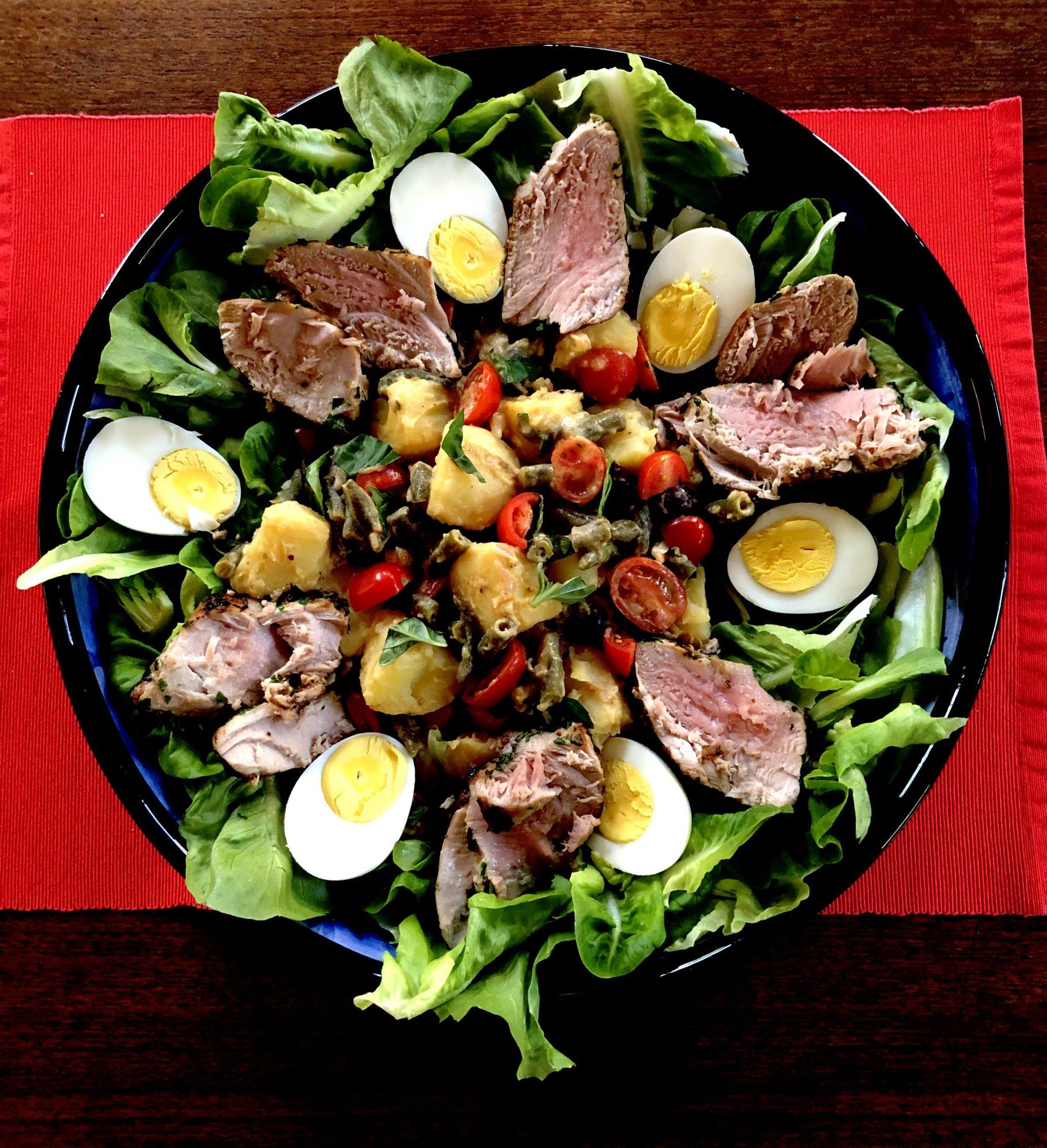 Grilled Tuna Salade Nicoise