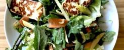 Grilled Halloumi Salad