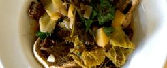 Portuguese Style Cabbage & Potato Soup
